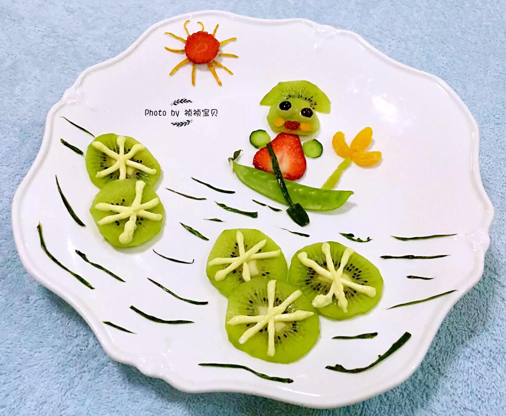 水果拼盘-勤劳的青蛙王子