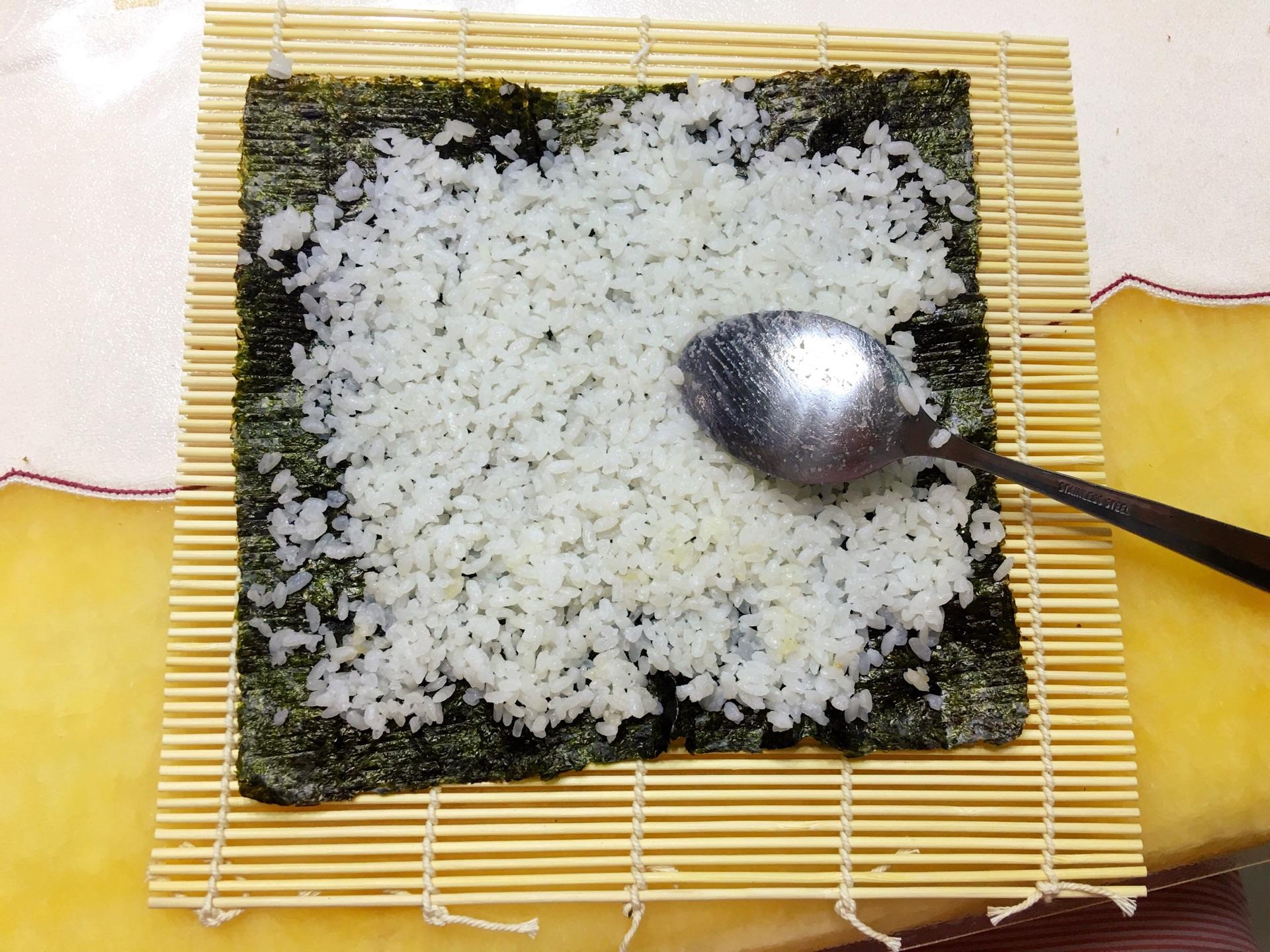 宝宝寿司的做法_【图解】宝宝寿司怎么做如何做好吃