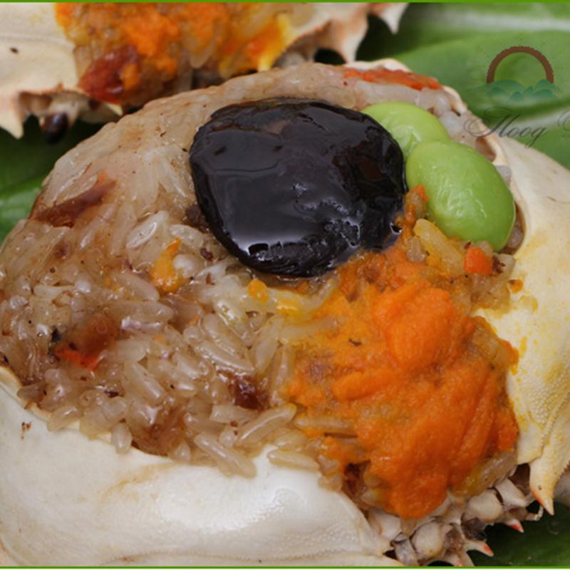 美味的台湾小吃八宝蟹饭的做法图解2