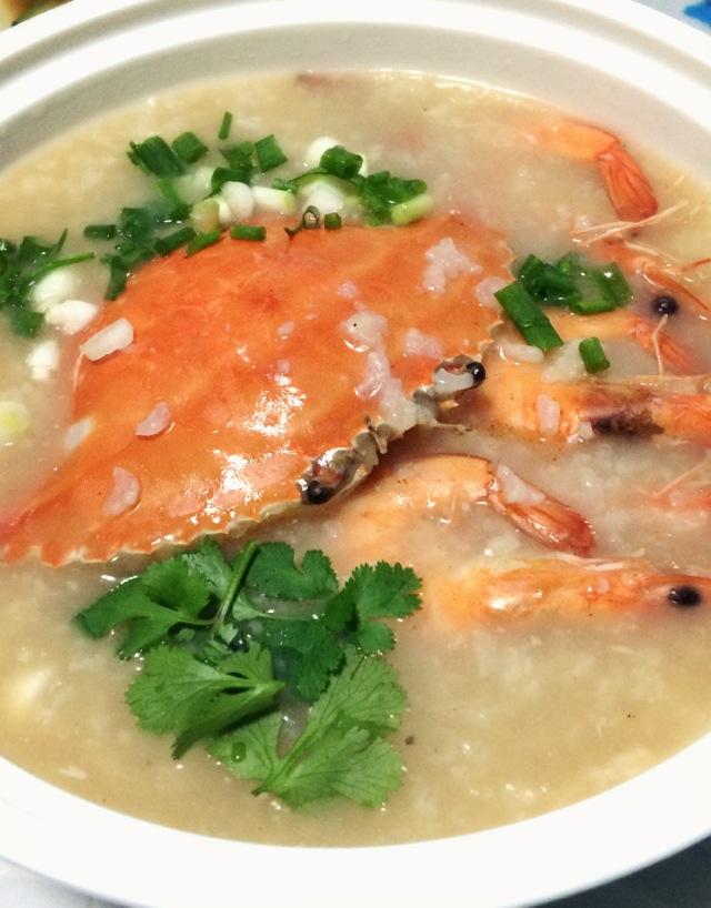 海鲜粥的做法图解4