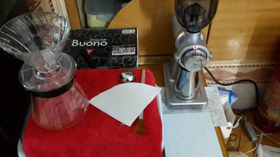 手冲咖啡的做法 !-- 图解2