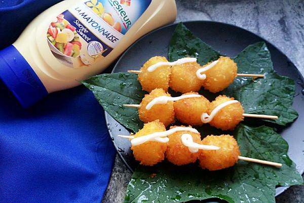 土豆丸子串#法国乐禧瑞,百年调味之巅#的做法
