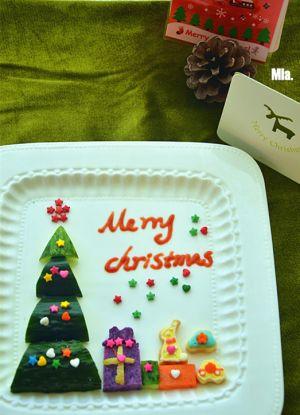 菜谱圣诞树拼盘 的所有评论