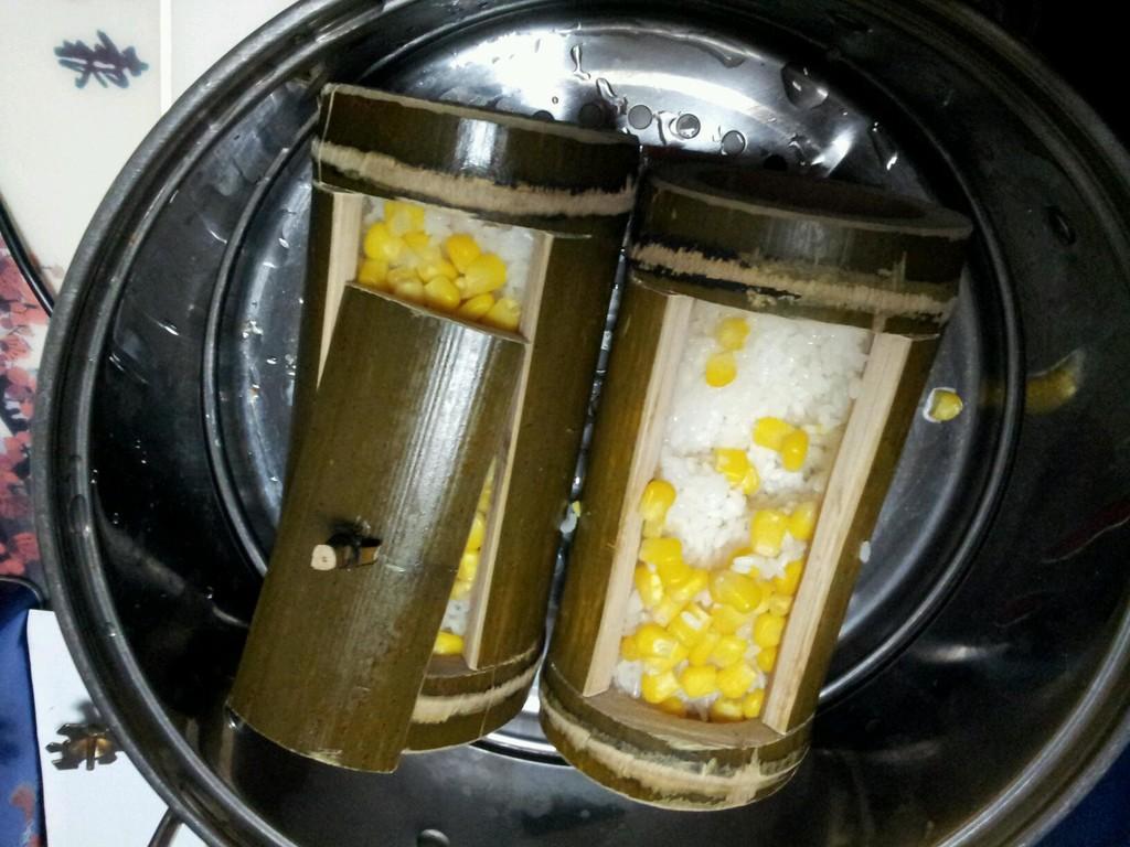 竹筒粽子的做法_【图解】竹筒粽子怎么做如何做好吃