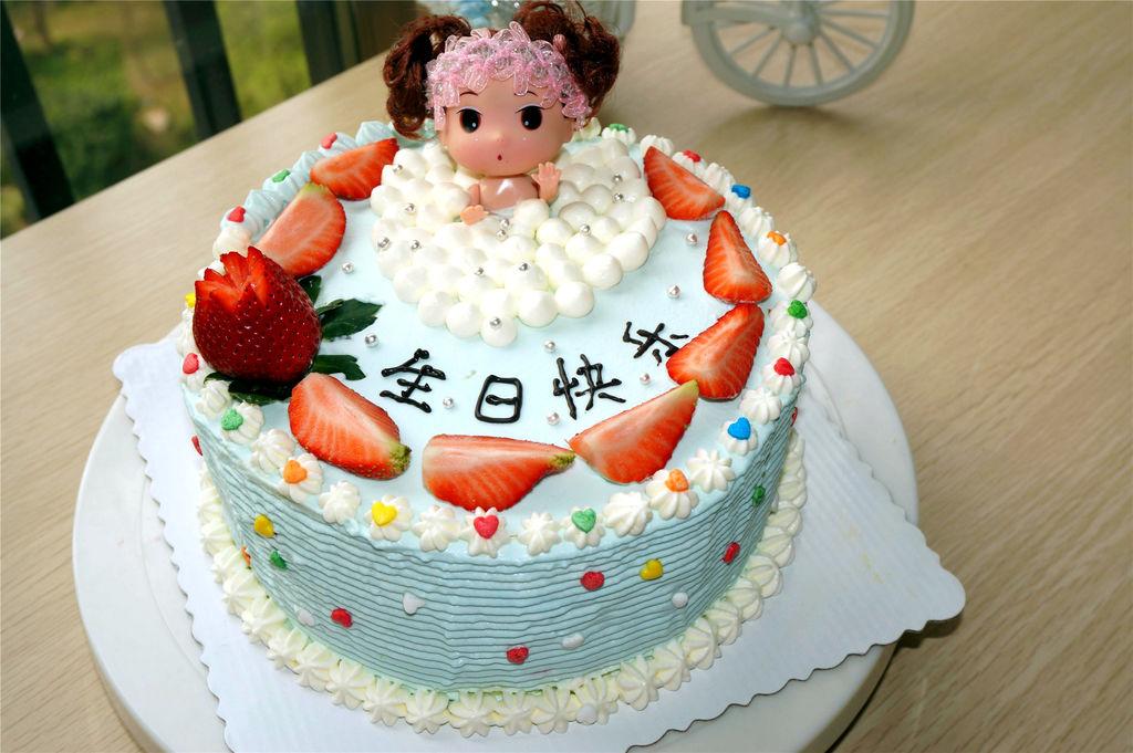 泡浴娃娃生日蛋糕的做法图解14