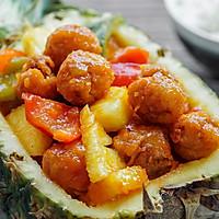 菠萝咕噜肉   日食记