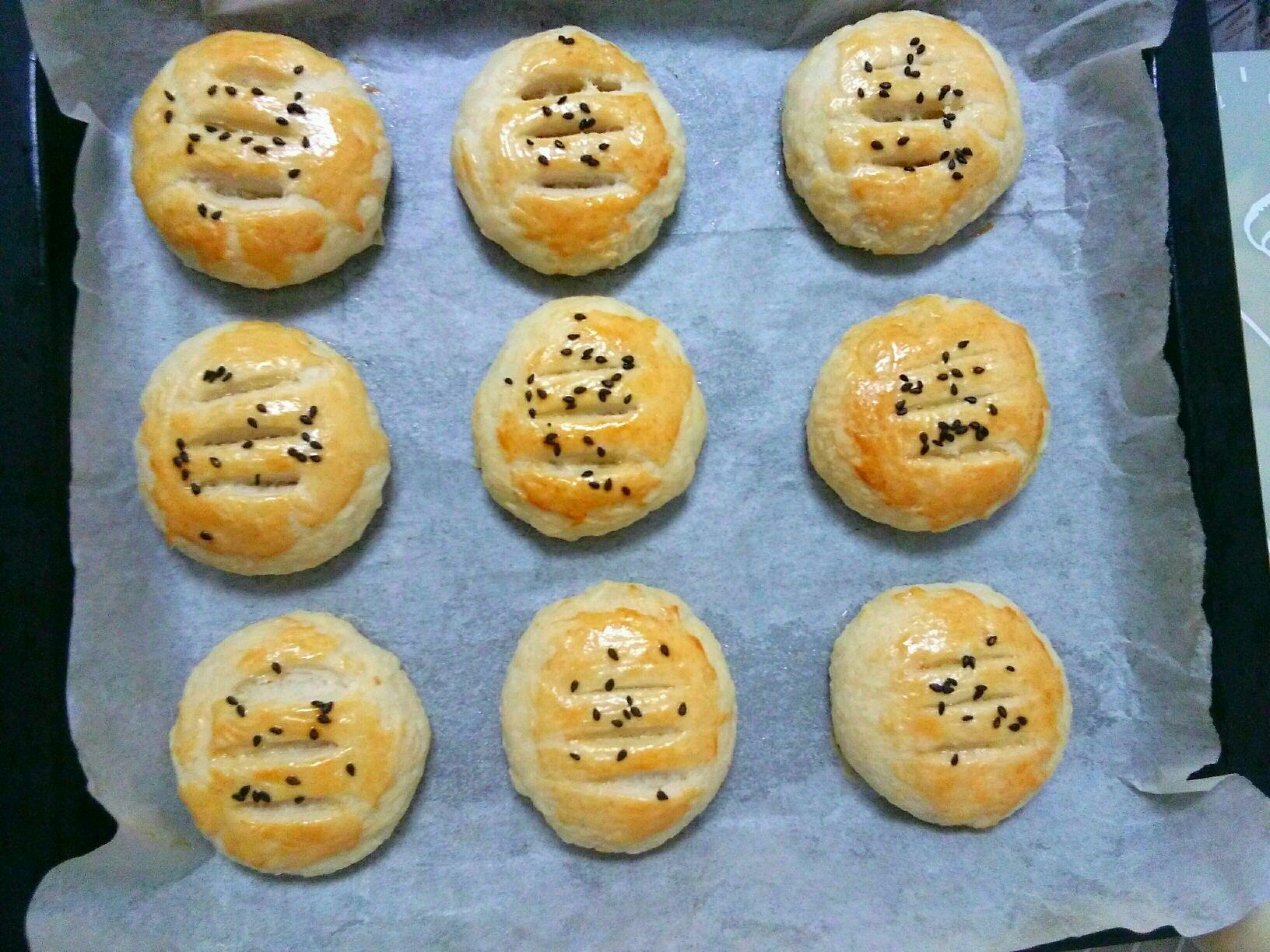 榴莲酥饼的做法图解13