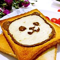 小熊卡通吐司面包之营养早餐的搭配#蔚爱边吃边旅行#
