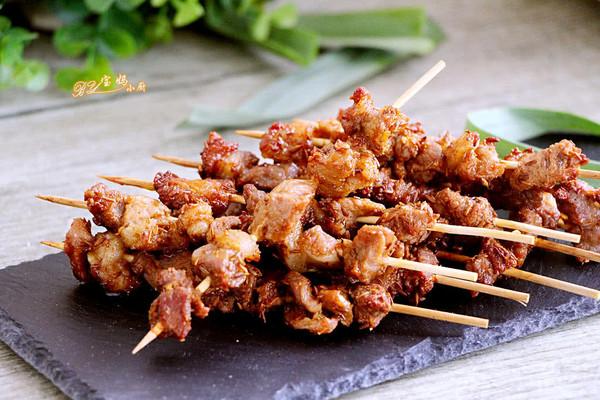 内蒙古羊肉串#蔚爱边吃边旅行#的做法