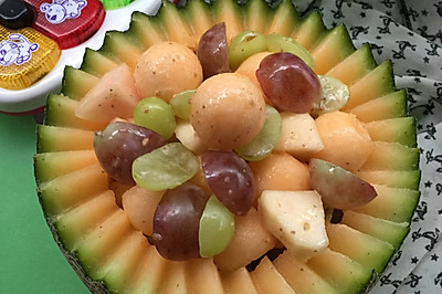 水果沙拉#丘比沙拉汁#