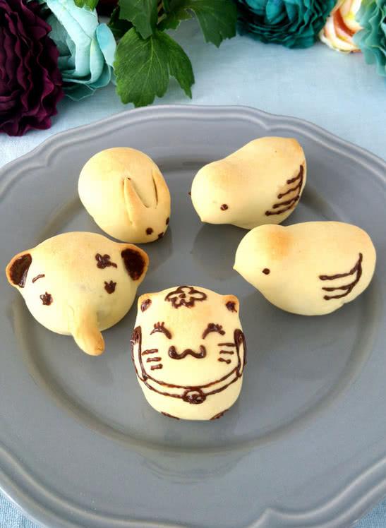 小动物烧果子的做法_【图解】小动物烧果子怎么做如何