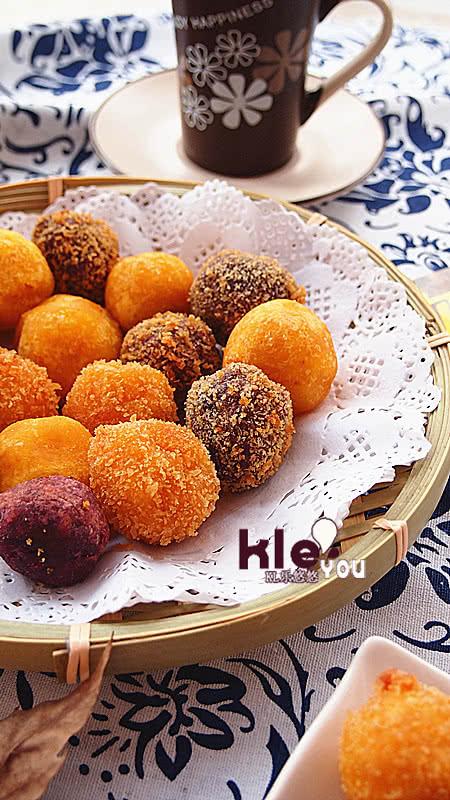 番薯黃金蛋 的做法_【圖解】番薯黃金蛋 怎麼做好吃 ...