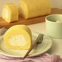 #柏翠辅食节-烘焙零食#奶油蛋糕卷