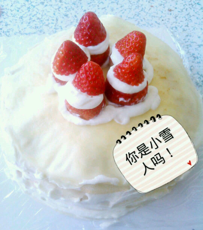 千层蛋糕的做法_草莓千层蛋糕的做法图解1