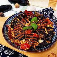 酿茄子#金龙鱼外婆乡小炸菜籽油  最强家乡菜#