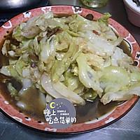 郫县豆瓣酱醋溜卷心菜