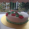 翻糖蛋糕#豆果五周年#