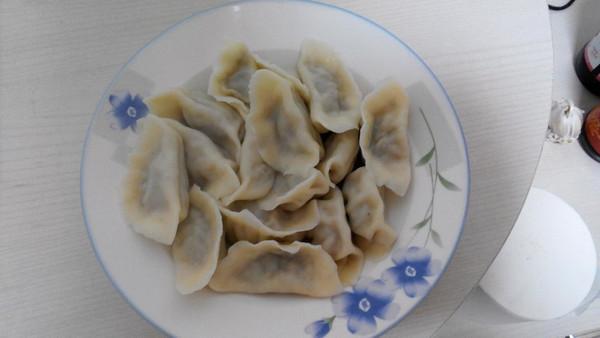 立冬吃饺子 猪肉芹菜馅水饺