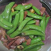 橄榄油炒甜豆