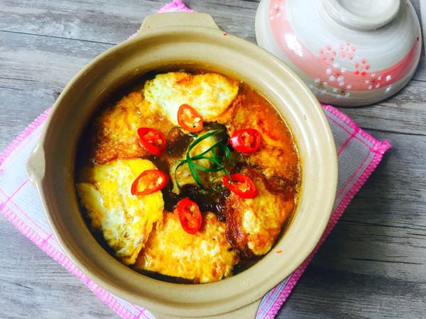 黄骨鱼炖荷包蛋