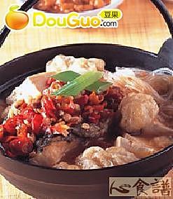 剁辣椒鱼锅的做法