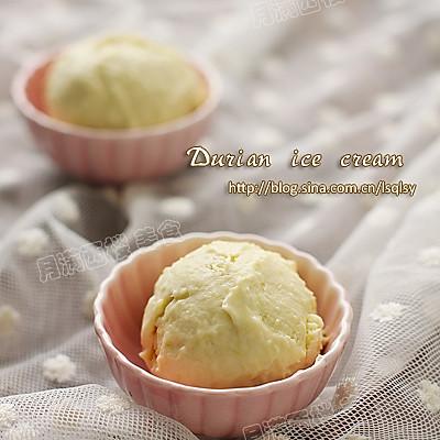榴莲冰淇淋(简易懒人版)的做法