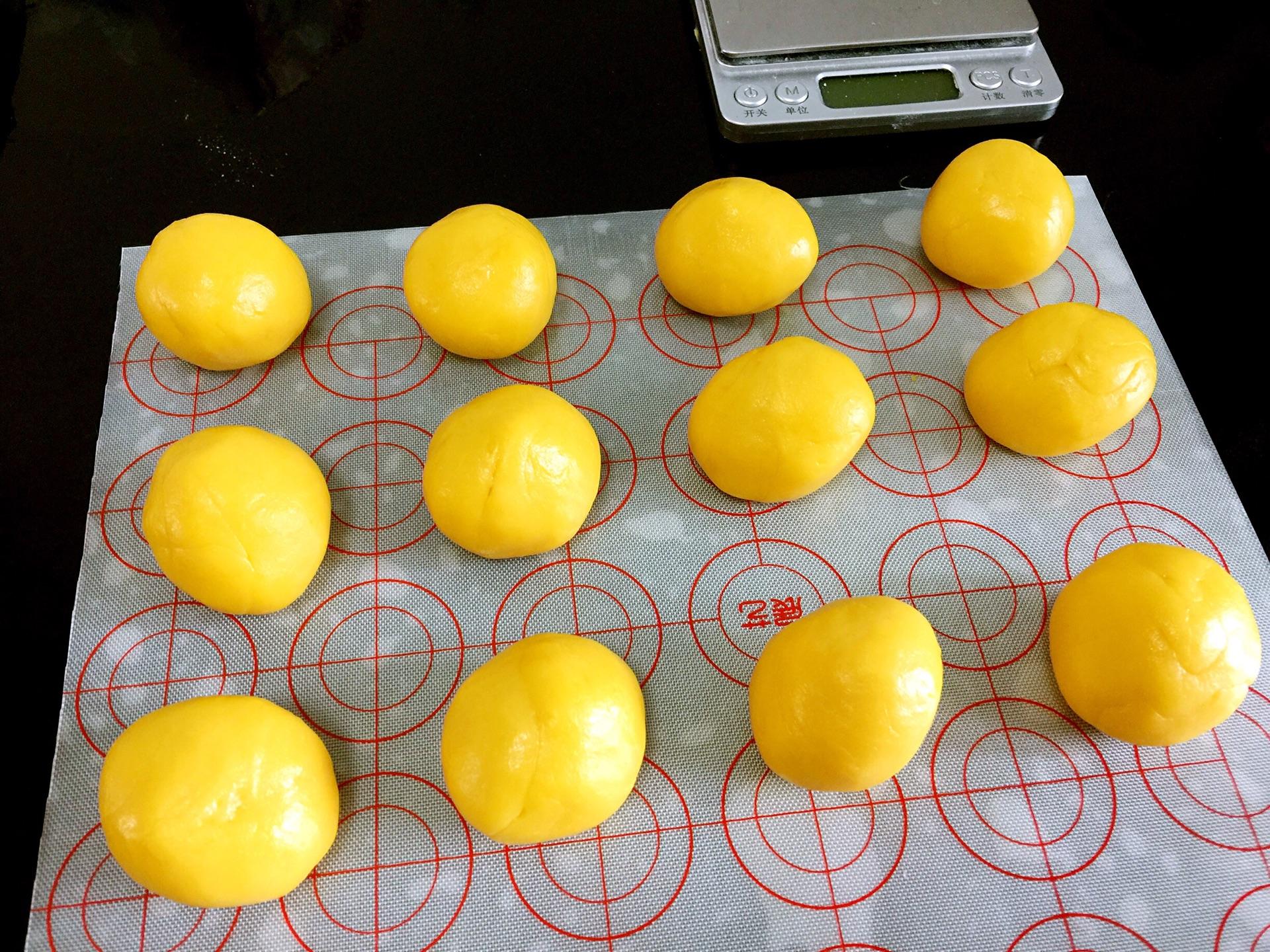 南瓜冰皮月饼~花好月圆的做法图解15