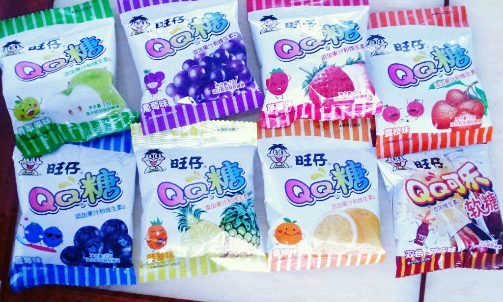 qq 颜色/1. QQ糖只要一块钱一包的那种哦!用量正好,选择自己喜欢的...
