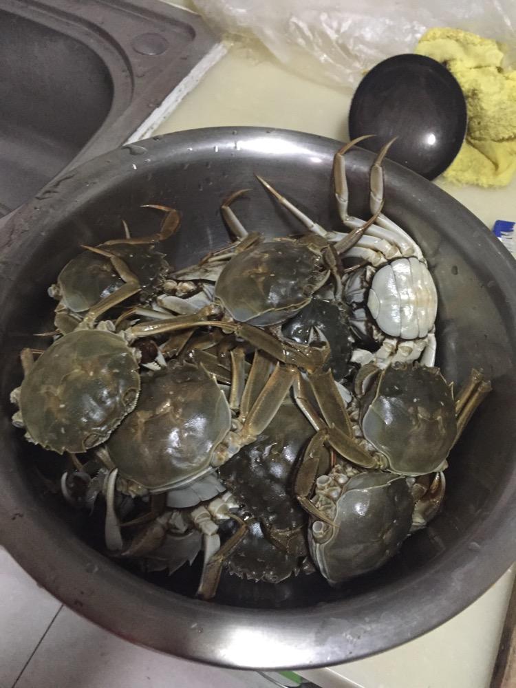 油闷螃蟹的做法图解1
