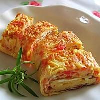 西红柿与鸡蛋的另一做法——西红柿厚蛋烧的做法图解10