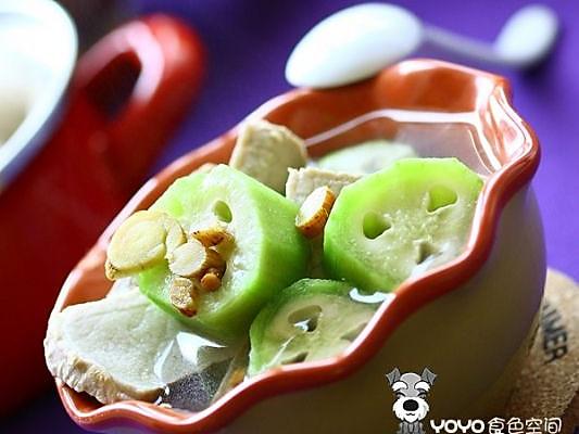 甘草丝瓜汤的做法