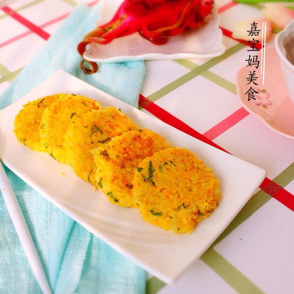 三文鱼米饼