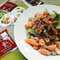 凉拌海螺面(焙煎芝麻口味)+#丘比沙拉汁#