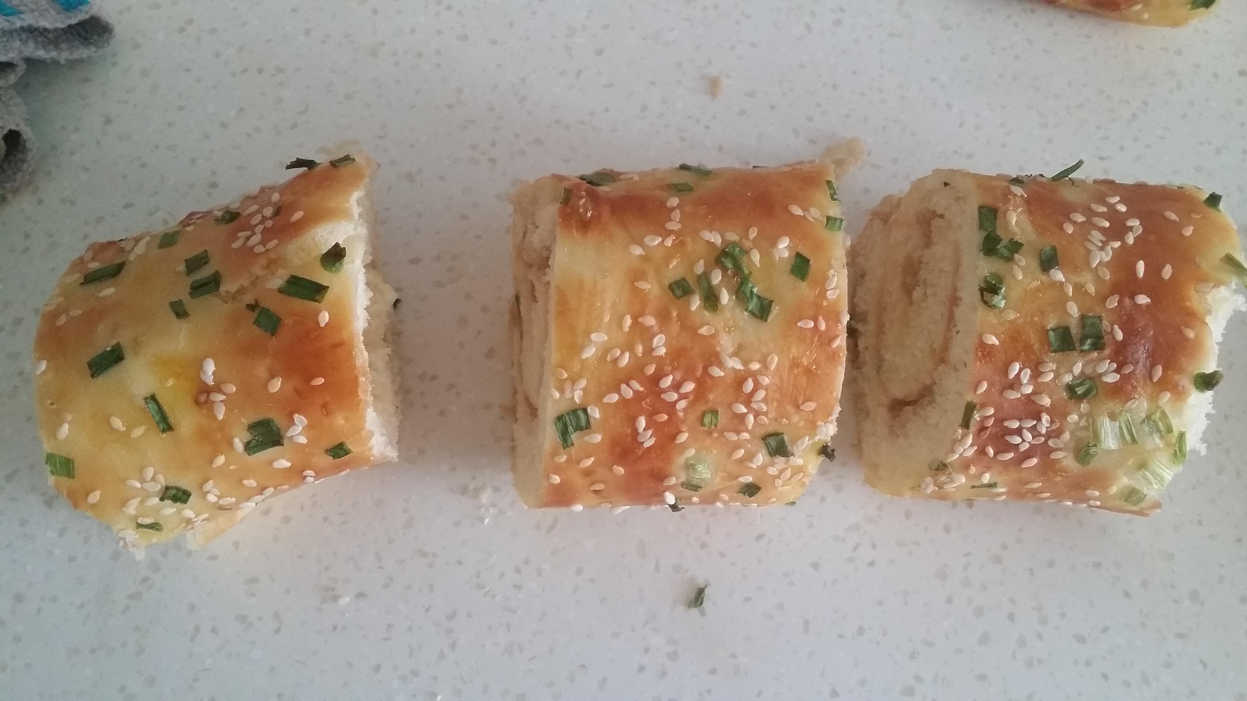 肉松面包卷的做法图解9