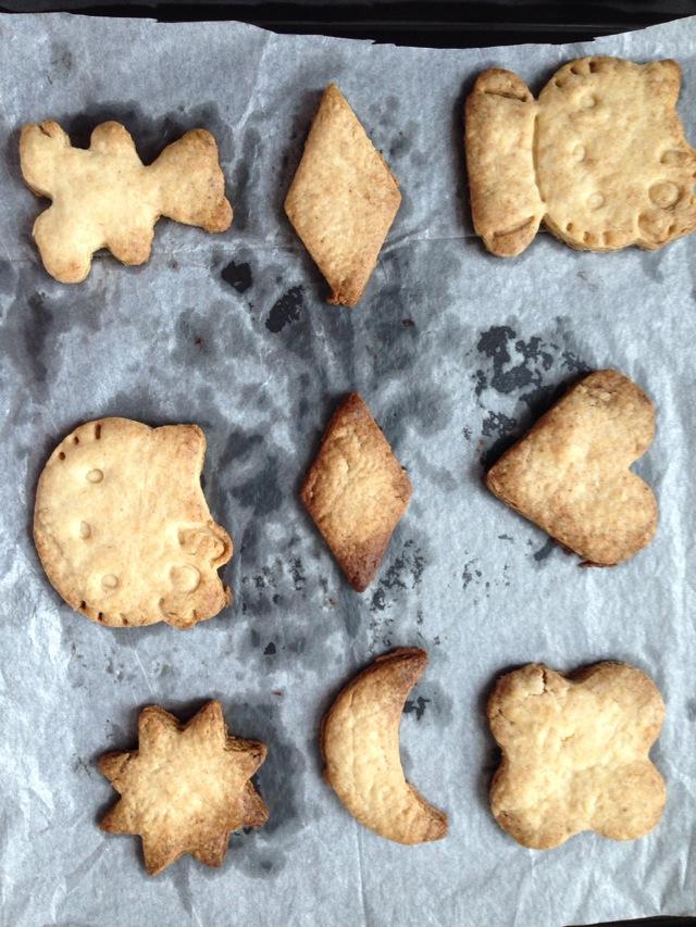 小容量烤箱制作香酥饼干