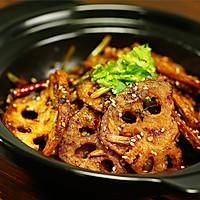 不管啥蔬菜,只要做成干锅,通通都能给你吃掉!——酱香干锅藕片