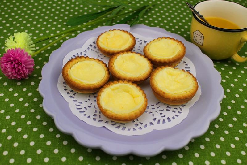 炒菜煲汤临锅时加入提鲜不口干 芝士奶油蛋挞的做法步骤         本