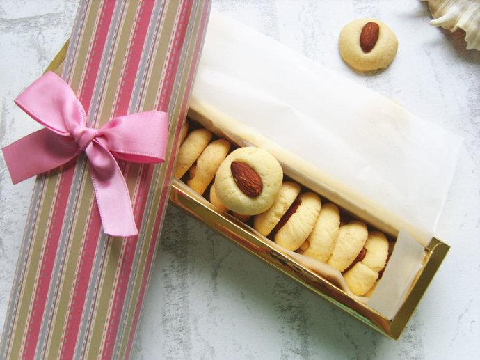 手工 长帝/无添加百搭手工曲奇——杏仁小西饼#长帝烘焙节#