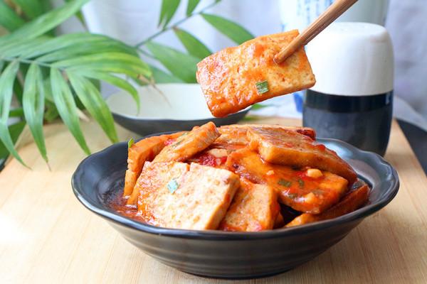 茄汁烧豆腐#酱香鲜#的做法