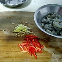 毛豆炒虾仁的做法图解3
