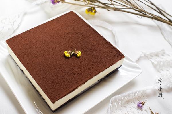 免烤蛋糕--黑白巧克力慕斯的做法