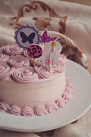 菜谱玫瑰奶油蛋糕 的所有评论图片
