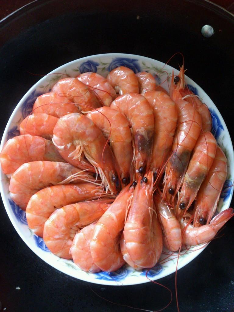 清蒸大虾的做法图解1