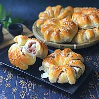 香芋面包卷#跨界烤箱 探索味来#