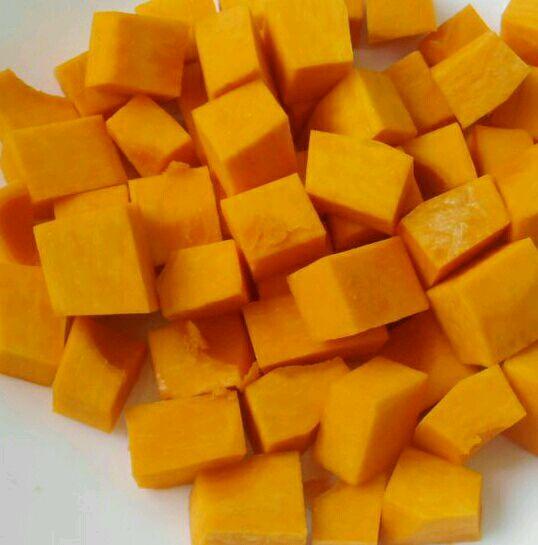 南瓜饭的做法图解2