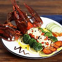 黄油焗波士顿龙虾