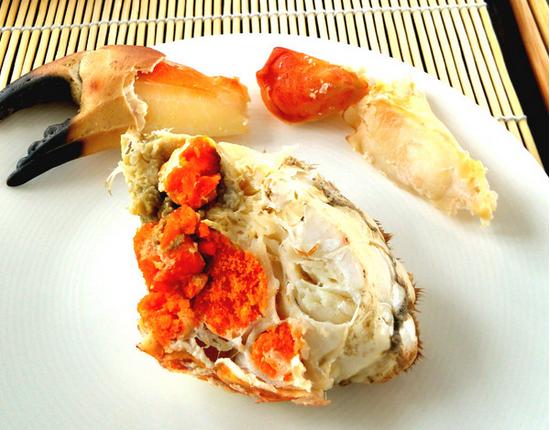 蒸海螃�y�9`f���_清蒸黄金面包蟹