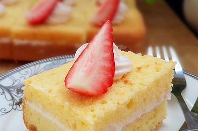 分蛋海绵奶油蛋糕