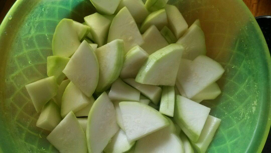 葫芦瓜酿的做法图解1
