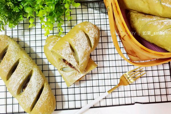 抹茶麻薯软欧#嘉宝笑容厨房#的做法